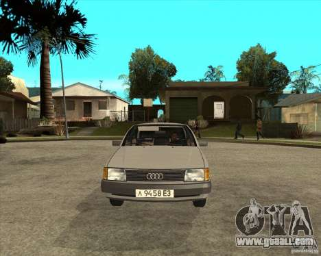 Audi 100 for GTA San Andreas back view
