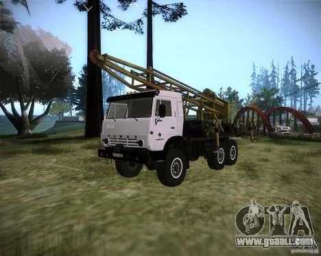KAMAZ 43118 rig for GTA San Andreas