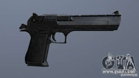 Desert Eagle - New model for GTA San Andreas forth screenshot