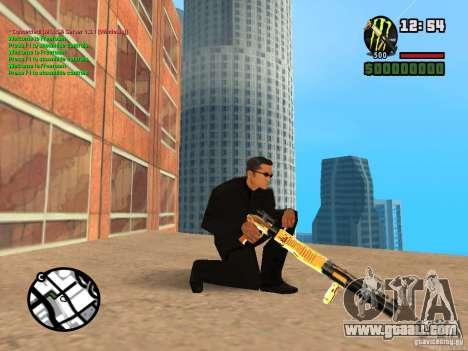 Gun Pack by MrWexler666 for GTA San Andreas second screenshot