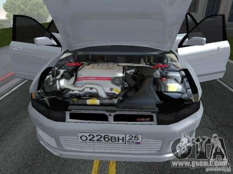 Mitsubishi Legnum for GTA San Andreas back left view