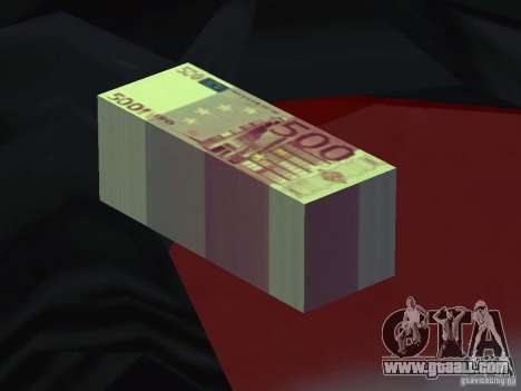 Euro money mod v 1.5 500 euros for GTA San Andreas