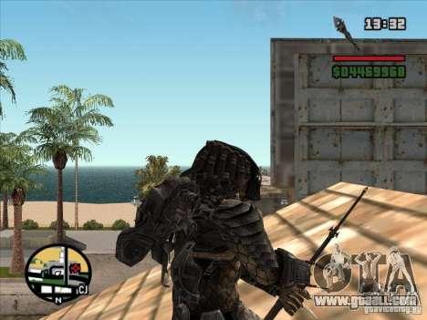 The Predator Spear for GTA San Andreas third screenshot