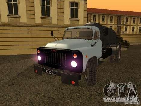 GAZ 53 Flusher for GTA San Andreas