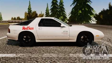 Mazda Savanna RX-7 for GTA 4 left view