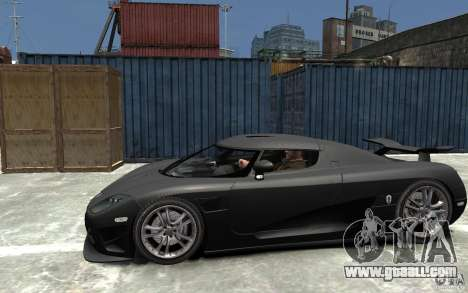 Koenigsegg CCXR Edition V1.0 for GTA 4 left view