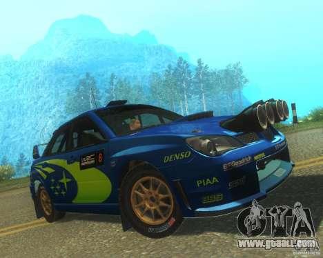 Subaru Impreza WRX STI DIRT 2 for GTA San Andreas