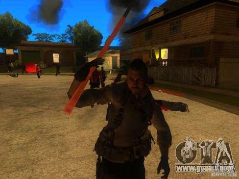 Animation Mod for GTA San Andreas seventh screenshot