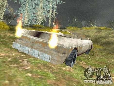GhostCar for GTA San Andreas second screenshot