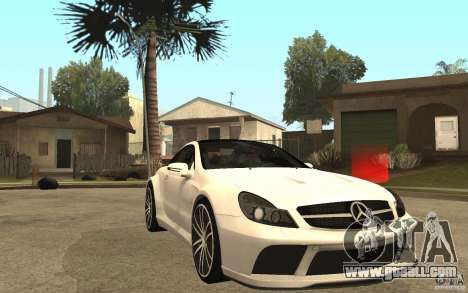 Mercedes-Benz SL65 AMG BS for GTA San Andreas back view