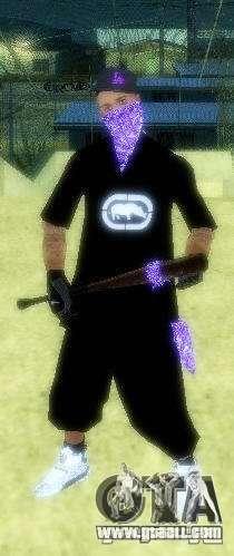 New skins The Ballas gang for GTA San Andreas second screenshot
