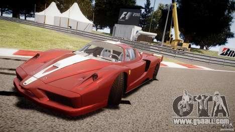 Ferrari FXX for GTA 4 interior