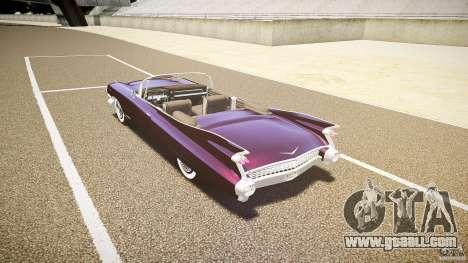 Cadillac Eldorado 1959 interior black for GTA 4 right view