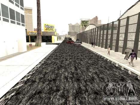 New roads in Las Venturas for GTA San Andreas forth screenshot