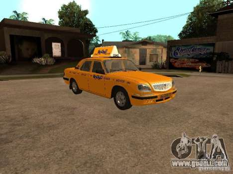 Gaz-31105 Volga Taxi for GTA San Andreas