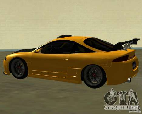 Mitsubushi Eclipse GSX tuning for GTA San Andreas right view