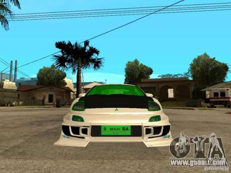 Mitsubishi Eclipse Midnight Club 3 DUB Edition for GTA San Andreas right view