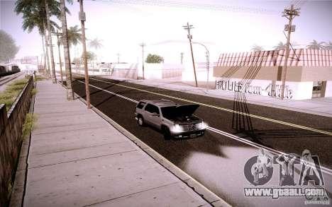Cadillac Escalade for GTA San Andreas side view