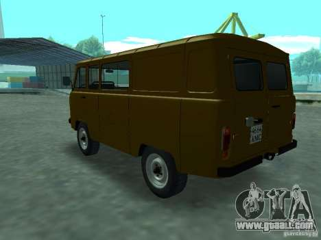 UAZ 3909 for GTA San Andreas right view