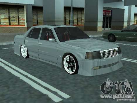 Toyota Crown S 150 TuninG for GTA San Andreas right view