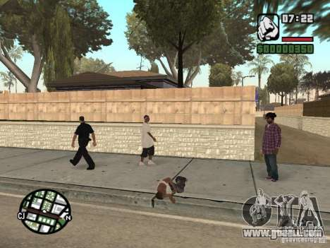 Sleep for GTA San Andreas second screenshot