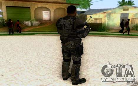 Salazar from CoD: BO2 for GTA San Andreas second screenshot