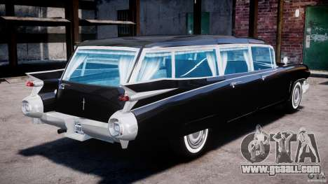 Cadillac Miller-Meteor Hearse 1959 for GTA 4 inner view
