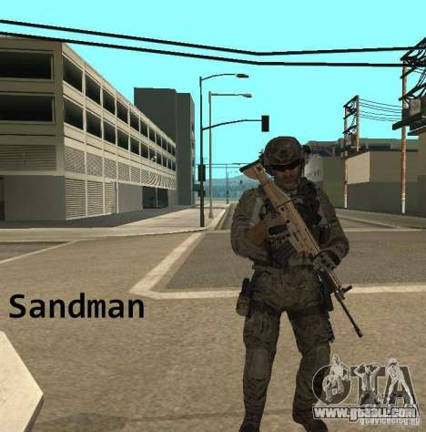 Frost and Sandman for GTA San Andreas forth screenshot