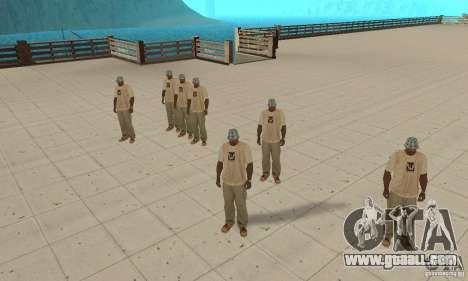Many CJ for GTA San Andreas forth screenshot