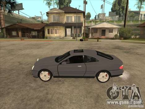 Mercedes-Benz CLK320 Coupe for GTA San Andreas left view