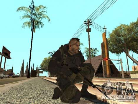 Captain MacTavish for GTA San Andreas fifth screenshot