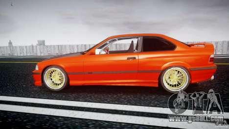 BMW E36 Alpina B8 for GTA 4 left view
