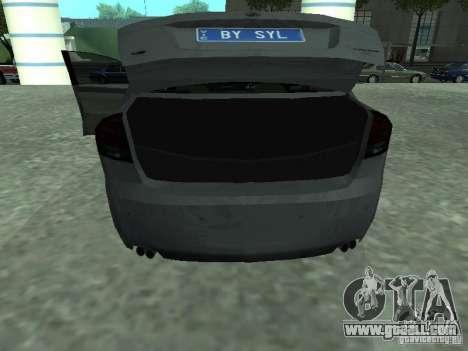 Holden Calais for GTA San Andreas back view