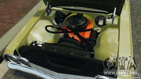 Chevrolet Impala SS 1964 for GTA 4 upper view