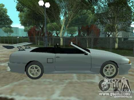 Elegy Of Convertible Tops for GTA San Andreas left view