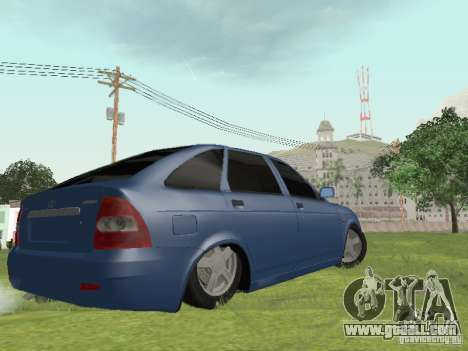 LADA 2170 Hatchback for GTA San Andreas left view