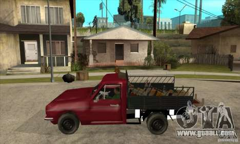 Anadol Pickup for GTA San Andreas left view