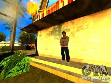 Mod Beber Cerveja V2 for GTA San Andreas forth screenshot