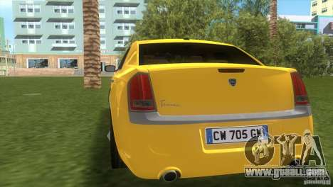 Lancia Nuova Thema for GTA Vice City right view