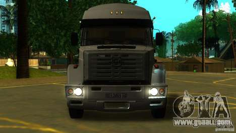 ZIL 5417 SuperZil for GTA San Andreas left view