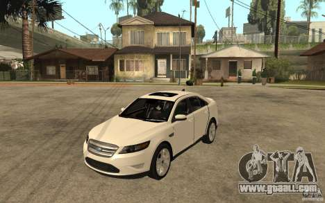 Ford Taurus 2010 for GTA San Andreas
