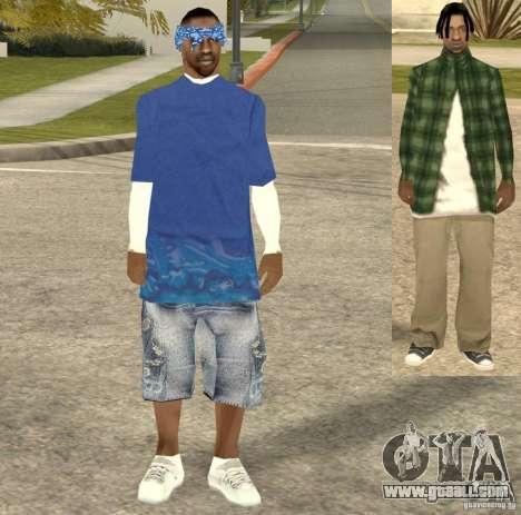 Compton Crips for GTA San Andreas third screenshot