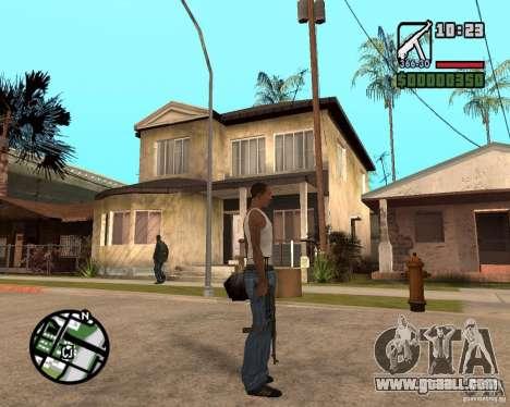 MP 40 for GTA San Andreas third screenshot
