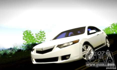 Acura TSX V6 for GTA San Andreas right view