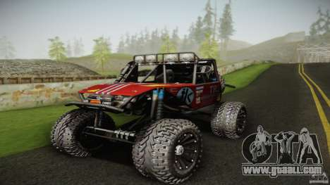 Buggy Off Road 4X4 for GTA San Andreas