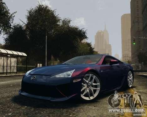 Lexus LF-A for GTA 4