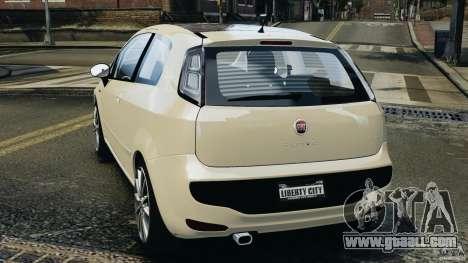 Fiat Punto Evo Sport 2012 v1.0 [RIV] for GTA 4 back left view