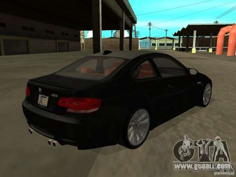 BMW M3 E92 Tunable for GTA San Andreas left view
