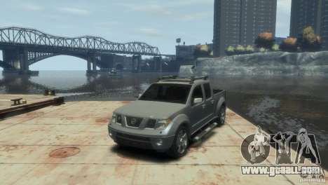 Nissan Frontier for GTA 4