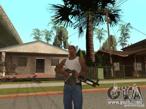 Light Machine Gun Dâgterëva for GTA San Andreas